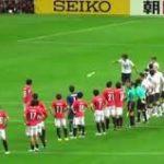 【ACL】韓国人選手がテーピングをピッチに投げ捨てる?浦和vs済州【動画】